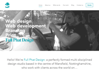 fullphatdesign.co.uk screenshot