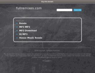 fullremixes.com screenshot