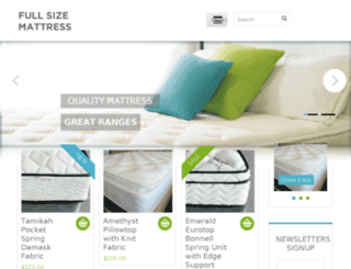 fullsizemattress.com.au screenshot