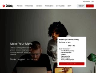 fullstackacademy.com screenshot