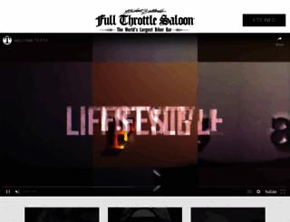 fullthrottlesaloon.com screenshot