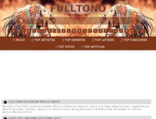 fulltono.com screenshot