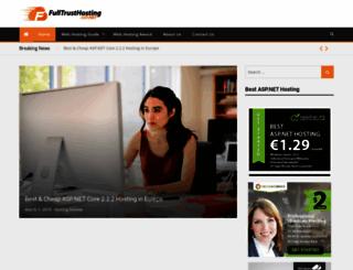 fulltrusthostingasp.net screenshot