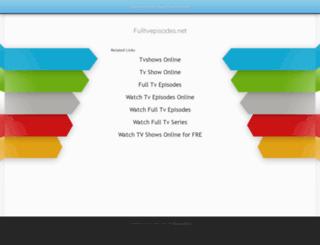 fulltvepisodes.net screenshot