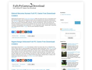 fullypcgames2download.blogspot.com screenshot