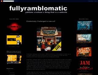 fullyramblomatic.com screenshot