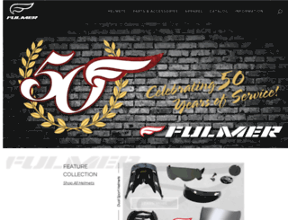fulmerhelmets.com screenshot