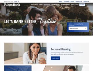 fultonbankonlinebnk.com screenshot