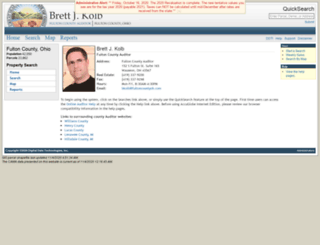 fultonoh-auditor.ddti.net screenshot