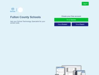 fultonschools.edmodo.com screenshot