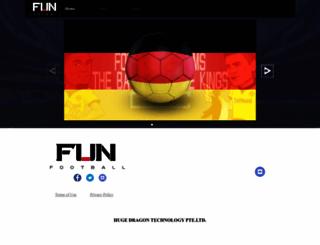 fun-football.com screenshot