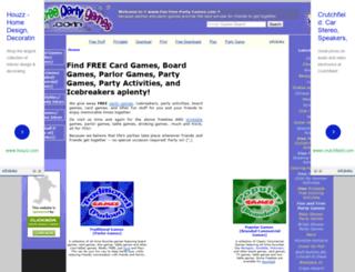 fun-free-party-games.com screenshot