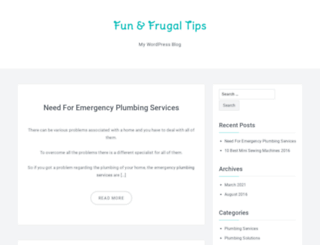 fun-frugal-mom-survival-tips.com screenshot