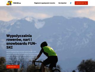 fun-ski.eu screenshot