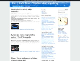 fun.cafetime.cz screenshot