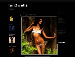 fun2walls.blogspot.com screenshot