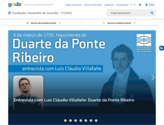 funag.gov.br screenshot
