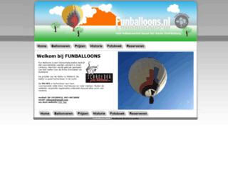 funballoons.nl screenshot