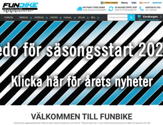 funbike.se screenshot
