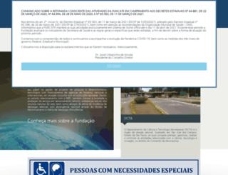funcate.org.br screenshot