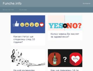 funche.info screenshot