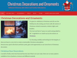 funchristmasdecorations.com screenshot
