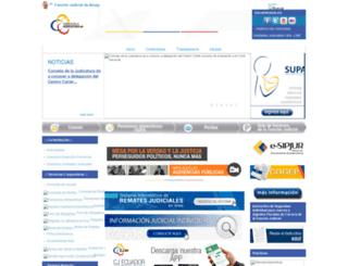 funcionjudicial-guayas.gob.ec screenshot