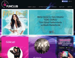 funclub.com.tr screenshot