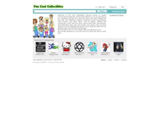 funcoolcollectibles.ecrater.com screenshot