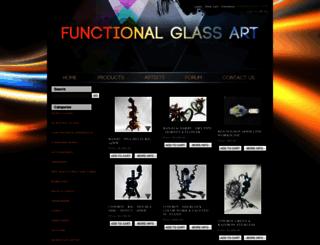 functionalglassart.com screenshot