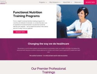 functionalnutrition101.com screenshot