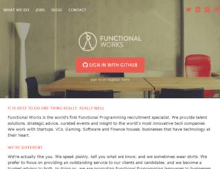 functionalworks.co.uk screenshot