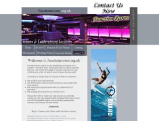 functionrooms.org.uk screenshot