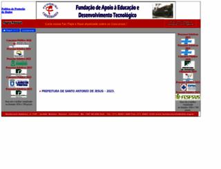 fundacaocefetbahia.org.br screenshot
