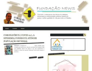 fundacaonews.blogspot.com.br screenshot