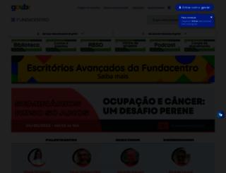 fundacentro.gov.br screenshot