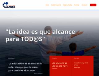 fundacionalcance.org screenshot