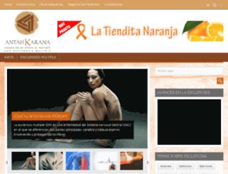 fundacionantahkarana.org.ve screenshot