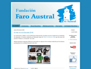 fundacionfaroaustral.blogspot.com screenshot