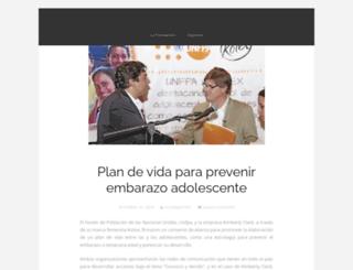 fundacionjuanfe.wordpress.com screenshot