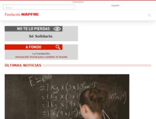 fundacionsalaprensa.mapfre.com screenshot