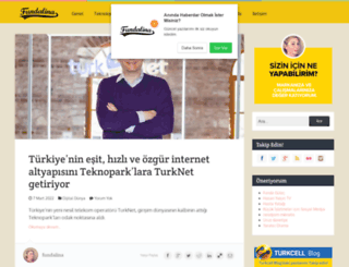 fundalina.com screenshot