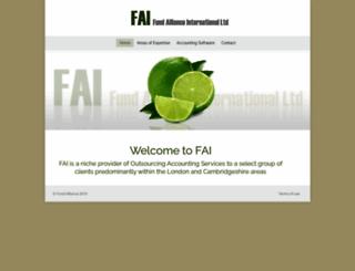 fundalliance.com screenshot