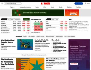 fundamentals.morningstar.com screenshot
