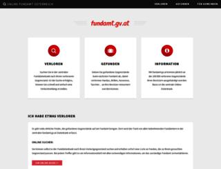 fundamt.gv.at screenshot