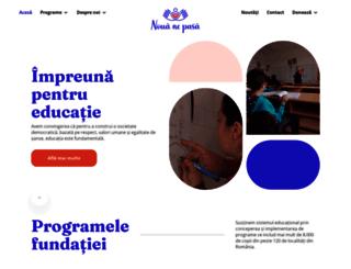 fundatiaemag.ro screenshot