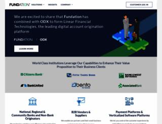 fundation.com screenshot
