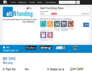 funding.altfi.com screenshot