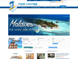 fundoovacations.com screenshot