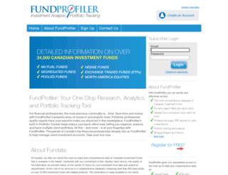 fundprofiler.com screenshot